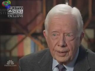 """Jimmy Carter: There Is """"Racist"""" Tone Against Obama"""