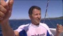 Hydroptère d'Alain Thébault record du monde de vitesse
