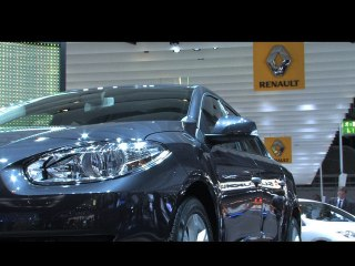 %name Francfort 2009 live : Renault Fluence