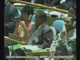 PARTIE 1-Exclusion de Andry RAJOELINA à l'ONU 25 sept 2009
