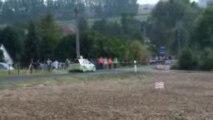 marc amourette en C2 super 1600 au rallye du val de bresle