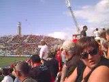 RCT - Toulouse dans le stade Vélodrome avant le match