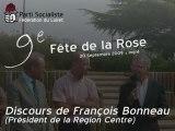 Discours de François Bonneau - Fête de la Rose