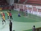 Le HBC Nîmes bat Metz (Handball L1)