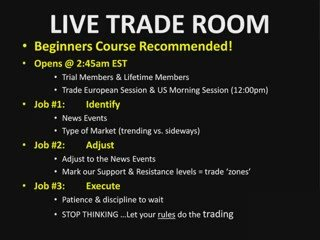 Day Trading Market Commentary