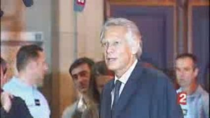 Villepin 21 sept. 2009 J'accuse Sarkozy