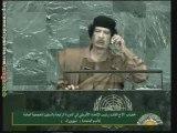 Mouammar Kadhafi à l'Assemblée générale de l'ONU (1)
