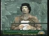 Mouammar Kadhafi à l'Assemblée générale de l'ONU (3)