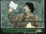 Mouammar Kadhafi à l'Assemblée générale de l'ONU (4)