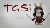 The Lapins Crétins : La Grosse Aventure - Les lapins au TGS