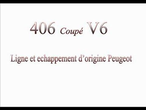 406 coupé V6 Ligne Origine=> full Supersprint=> et 1an aprés