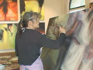 Elisabeth Daveau, artiste peintre
