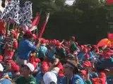 Jamboree 2006 - Cérémonie d'ouverture, chants d'attente
