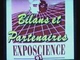 1991 Exposcience Pays de la Loire bilan & partenaires
