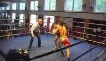 Boulef Mohamed boxe thai K.O