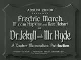 Dr. Jekyll and Mr. Hyde Review