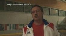 RINK HOCKEY - CHAMPIONNAT DU MONDE JUNOR 2009 : France / Argentine - Interview  Eric MARQUIS