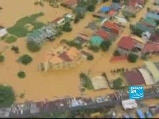 Ketsana provoque des vagues de boues aux Philippines