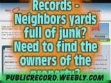 People Search & Public Records -PROPERTY RECORDS and ...