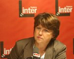 Frnce Inter - Martine Aubry