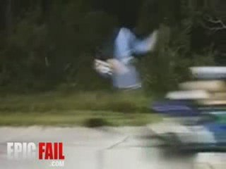 Scooter Jump Fail