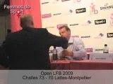 Open LFB 2009 - Challes-les-Eaux/Lattes-Montpellier