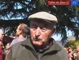 Simon Crampe, éleveur d'AOC Barèges-Gavarnie à Gèdre-Dessus