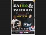Farkad en concert avec Zaïko le 10 octobre 2009 au 4 Bis !