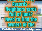 Instantly lookup REAL ESTATE property records