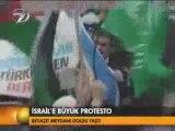 Turquie - Palestine manifestation contre le massacre de gaza