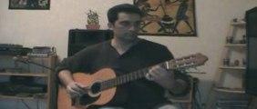 Cours de guitare : Une façon d'accompagner Le métêque Georges Moustaki