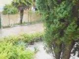 Inondations de Septembre à Porquerolles