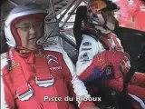 Avec Sébastien Loeb, à bord de la Citroën C4 WRC