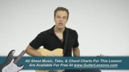 Relative Minor Guitar Keys – Guitar Lessons
