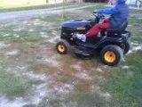 tracteur tondeuse lamborghini