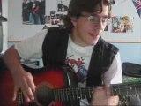 Vianney - Apprendre Give me novacaine de G.D a la guitare