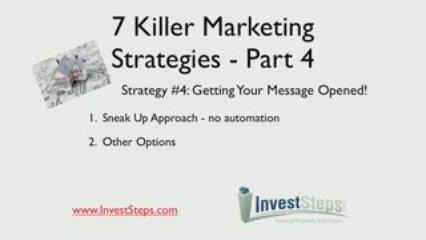 7 Killer Real Estate Marketing Strategies – Part 4