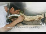 mammoth ivory tusk carving by tide-mammoth artists