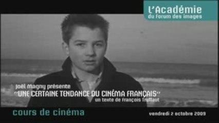 """François Truffaut, """"Une certaine tendance du cinéma français"""""""