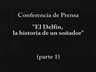 Conferncia de Prensa de El Delfin, la historia de un soñador