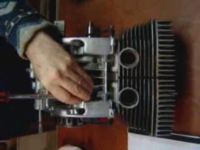 Restauration d'un moteur de 125 Motobécane