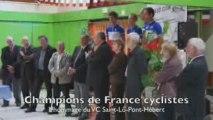 Des champions de France cyclistes à Saint-Lô-Pont-Hébert