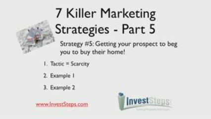 7 Killer Real Estate Investor Marketing Strategies – Part 5