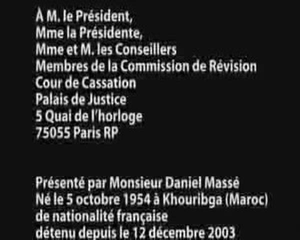 LDM 4 - Daniel Massé - Mémoire complémentaire 30/09/09