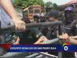 Brutalité policière en Honduras
