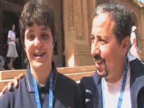 Interview de Magali Rousset et Lassen Moussouni