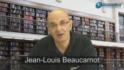 Vidéo de Jean-Louis Beaucarnot