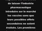Vaccin H1N1: immunité des laboratoires ?