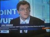 EPAD : Jean Sarkozy sur France 3