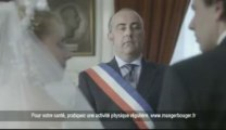 Pub Oublier le Cantal Mariage - Coupsdepub.com